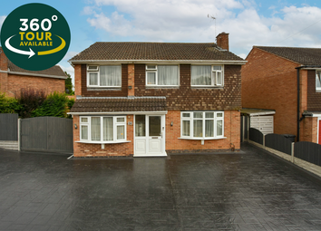 Thumbnail 4 bed detached house for sale in Baldwin Road, Knighton, Leicester