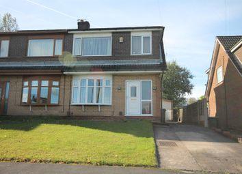 Thumbnail 3 bed semi-detached house for sale in Lichfield Close, Farnworth, Bolton