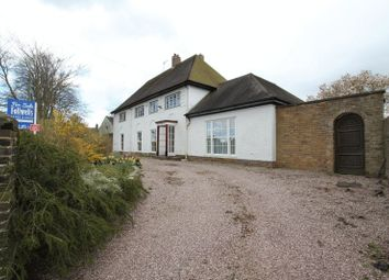 Thumbnail 4 bed detached house for sale in Station Road, Madeley, Crewe