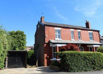 Thumbnail 3 bedroom semi-detached house for sale in Hazelhurst Road, Worsley, Manchester
