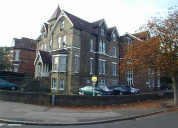 Thumbnail 3 bed flat to rent in Manor Road, Folkestone