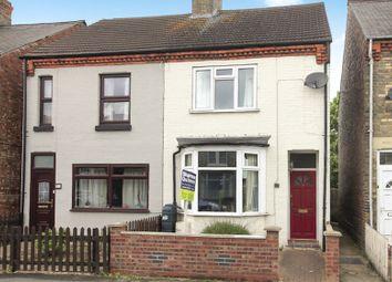 Thumbnail 3 bedroom semi-detached house for sale in Burmer Road, Peterborough
