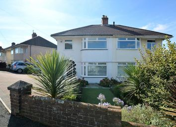 Thumbnail 3 bedroom semi-detached house for sale in Lynwood Avenue, Plymouth, Devon
