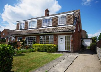 Thumbnail 3 bed semi-detached house for sale in Windmill Drive, Northowram, Halifax