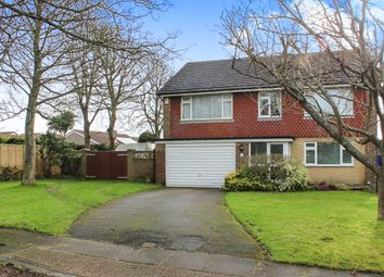 Thumbnail 4 bed detached house for sale in Kingston Green, Seaford