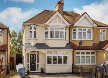 Thumbnail 3 bed semi-detached house for sale in Carlingford Road, North Cheam, Sutton
