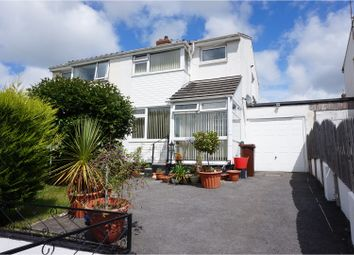Thumbnail 3 bed semi-detached house for sale in Bawden Road, Bodmin