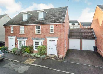 Thumbnail 4 bed semi-detached house for sale in Collett Road, Norton Fitzwarren, Taunton