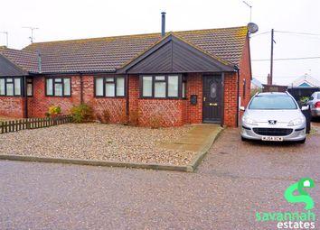 Thumbnail 2 bedroom bungalow for sale in Walcott, Norwich