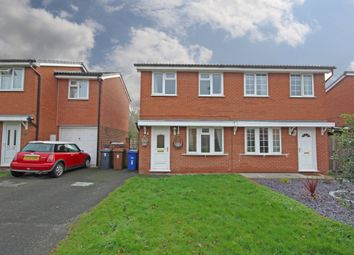 Thumbnail 2 bed semi-detached house to rent in Buckingham Close, Stretton, Burton-On-Trent