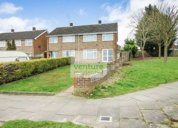 Thumbnail 3 bedroom semi-detached house for sale in Wheatfield Road, Luton