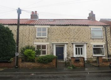 Thumbnail 3 bed terraced house to rent in Mill Street, Malton