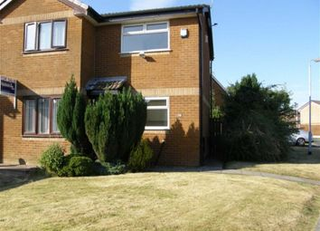 Thumbnail 1 bed semi-detached house to rent in Wharfedale, Westhoughton, Bolton