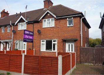 Thumbnail 3 bed semi-detached house for sale in Newman Grove, Rugeley