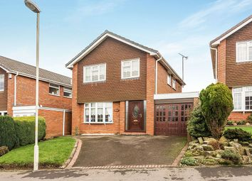 Thumbnail 4 bedroom detached house for sale in Avington Close, Sedgley, Dudley