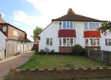 3 bed semi-detached house to rent in Knightwood Crescent, New Malden KT3
