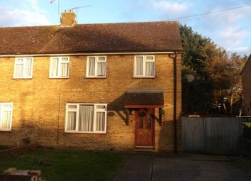 Thumbnail 3 bedroom semi-detached house to rent in Reed Avenue, Canterbury