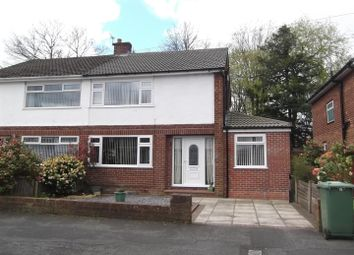 Thumbnail 4 bed semi-detached house for sale in Mossdale Drive, Rainhill, Prescot