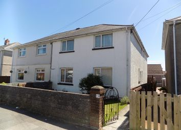 Thumbnail 5 bed semi-detached house for sale in Highland Avenue, Bryncethin, Bridgend.