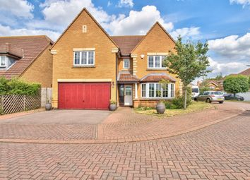 Thumbnail 4 bed detached house for sale in Dorchester Way, Bedford, Bedfordshire