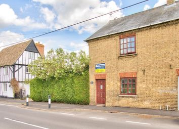 Thumbnail 2 bedroom end terrace house for sale in High Street, Offord D'arcy, St. Neots