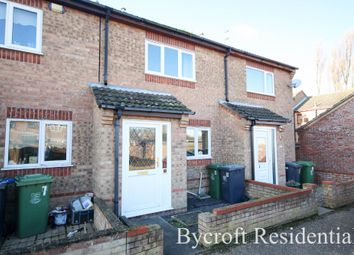 Thumbnail 2 bed terraced house for sale in Burgess Close, Caister-On-Sea, Great Yarmouth