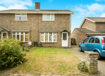 Thumbnail 3 bed semi-detached house for sale in Provan Crescent, Belton, Great Yarmouth