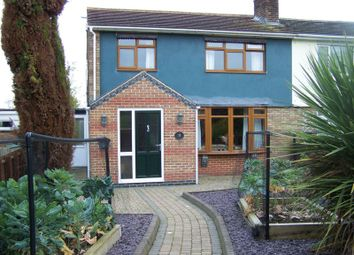 Thumbnail 3 bedroom semi-detached house for sale in Welland Avenue, Gartree, Market Harborough