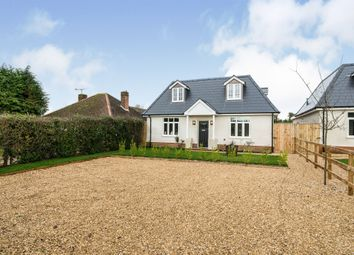 Thumbnail 4 bed detached house for sale in Amesbury Road, Weyhill, Andover