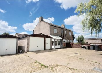 Thumbnail 3 bed semi-detached house for sale in Sleaford Road, North Kyme