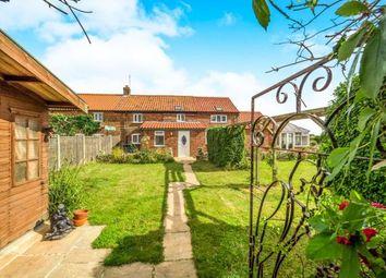 Thumbnail 3 bedroom end terrace house for sale in Ostend Road, Walcott, Norwich