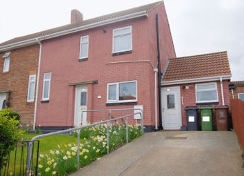 Thumbnail 2 bed semi-detached house for sale in Hudson Avenue, Bedlington