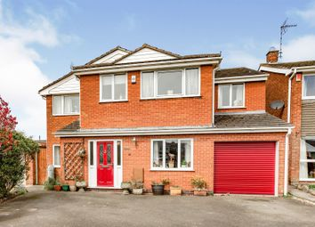 Thumbnail 5 bed detached house for sale in Home Close Road, Houghton-On-The-Hill, Leicester