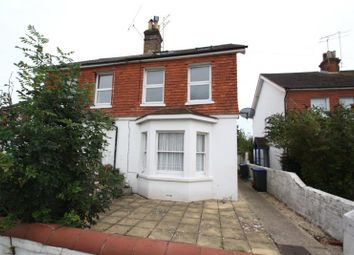 Thumbnail 1 bedroom flat for sale in Rugby Road, Worthing, West Sussex