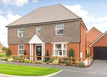 "Thumbnail 4 bed detached house for sale in ""Layton"" at Broughton Crossing, Broughton, Aylesbury"