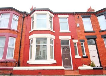 Thumbnail 3 bedroom terraced house to rent in Kingsdale Road, Allerton, Liverpool