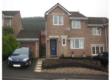 Thumbnail 3 bed semi-detached house for sale in Dorallt Way, Cwmbran