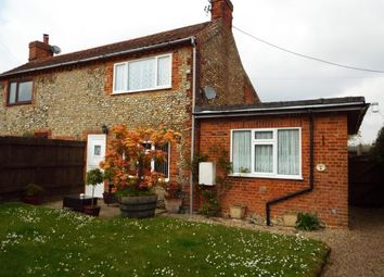 Thumbnail 3 bed semi-detached house for sale in Briston, Melton Constable, Norfolk