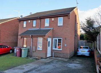 Thumbnail 2 bedroom semi-detached house for sale in Meadowside Close, Wingerworth, Chesterfield