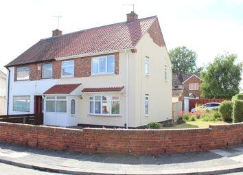 Thumbnail 3 bed semi-detached house for sale in Richmond Crescent, Billingham