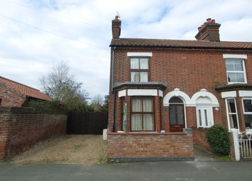 Thumbnail 2 bedroom terraced house for sale in Tillett Road, Norwich