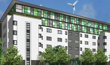 Thumbnail 1 bed flat to rent in The Greenhouse, Leeds