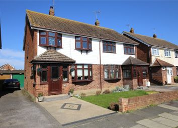 Thumbnail 3 bed semi-detached house for sale in Balstonia Drive, Stanford-Le-Hope