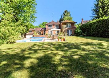 Thumbnail 5 bed detached house to rent in The Poplars, Ascot, Berkshire