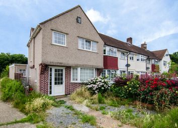 Thumbnail 4 bed end terrace house for sale in Berwick Crescent, Sidcup