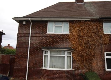 Thumbnail 3 bedroom semi-detached house to rent in Nuthall Road, Aspley, Nottingham