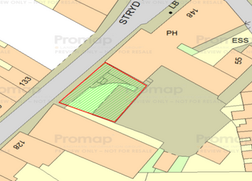 Thumbnail Land for sale in High Street, Bangor, Gwynedd