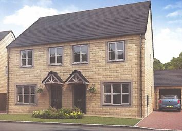 Thumbnail 3 bed semi-detached house for sale in Waingate, Linthwaite, Huddersfield