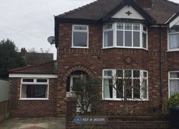 Thumbnail 3 bed semi-detached house to rent in Greenbank Gardens, Warrington