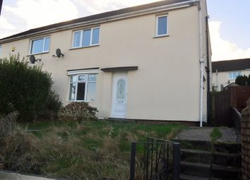 Thumbnail 3 bed semi-detached house to rent in Brynamlwg, Cefn Hengoed, Hengoed